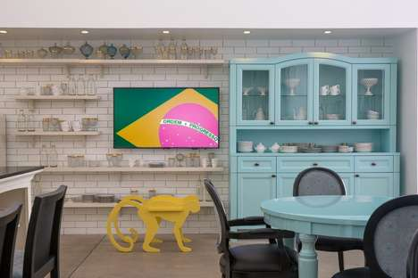 Exhibitionist Brazilian-Inspired Decor - Henrique Steyer Decor Incorporates a Brazilian Personality