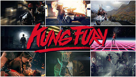 80s-Inspired Indie Films - The Kung Fury Movie is a Hilarious Homage to Everything 80s