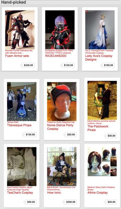 Online Cosplay Marketplaces - CosTrader Makes Dressing Up for Comic-Con Easier Than Ever