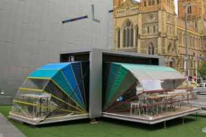 The Nebula Portable Arts Space Unfolds for Creative Facilities Anywhere