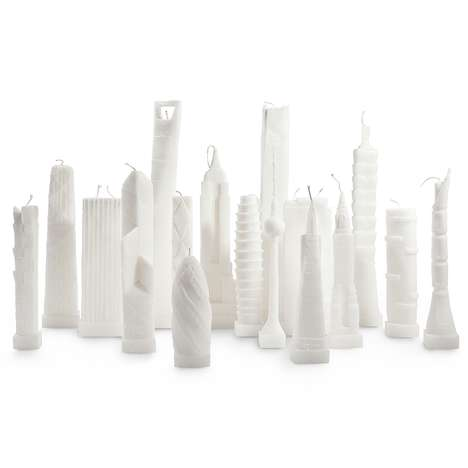 Architectural Skyline Candles - Bring Mahattan to Your Home with the Lovely Building Candles