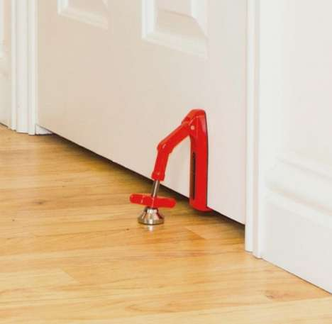 Secure Portable Door Stoppers - Feel Safe and Sound Wherever You Are with the Portable Door Jammer