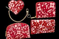 Heart-Patterned Designer Purses - The Louis Vuitton Sweet Monogram Collection is All About Love