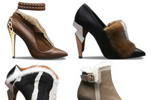 The Fendi Winter Accessory Collection Includes Magnificent Mink
