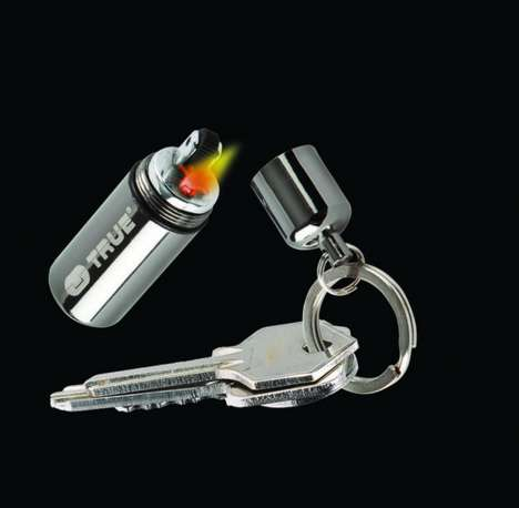 Mini Fire-Starter Keychains - Light Up the Dark with Your FireStash Keyring Lighter