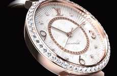 Designer Diamond Monogram Timepieces