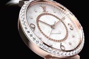 Louis Vuitton Tambour Monogram Watches are Diamond Delights