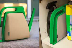 This Watering Can is Used for Small Balcony Gardens and Folds