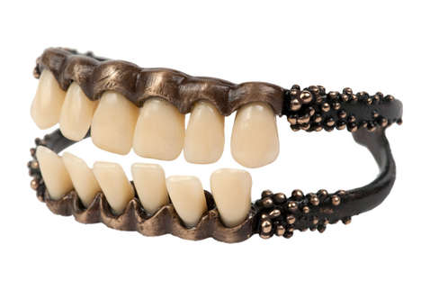 Creepy Teeth Jewelry - Give Your Outfit Some Bite With This Odd Accessory