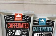 Caffeinated Shaving Creams