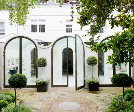 Elegant English Estates - Andy Martin Architects Balances Form and Function with this Home