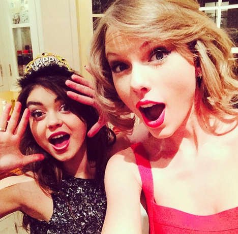 Celebrity New Year Instagrams - In the Future, Have a Celebrity New Year