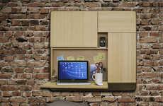 Speaker-Embedded Work Stations