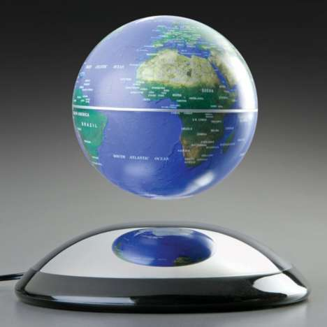 Anti-Gravity Globes - This Floating Globe from Levitron is Fun and Informative