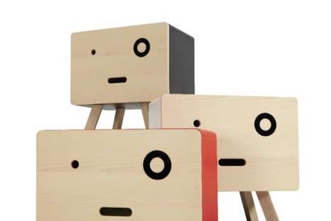 Quirky Animated Furniture - These Distinctive Furniture Sets Have Personified Features