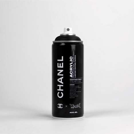Designer Aerosol Paints - The Spray Can Project by Antonia Brasko Gets a Luxe Treatment