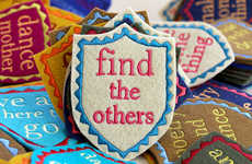 Book Quote Clothes Patches