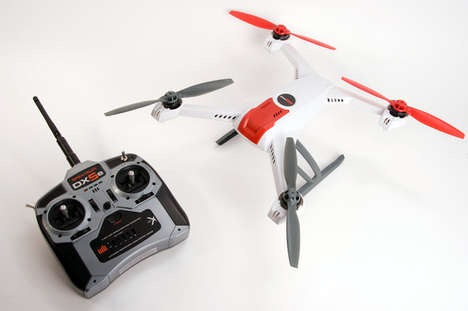 Camera-Equipped Quadcopters - This Remote Control Quadcopter Will Always Return Home Safely