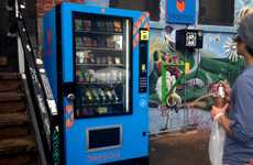Cyclist-Targeting Vending Machines - The Bikestock Vending Machine Provides Relief for Mishaps