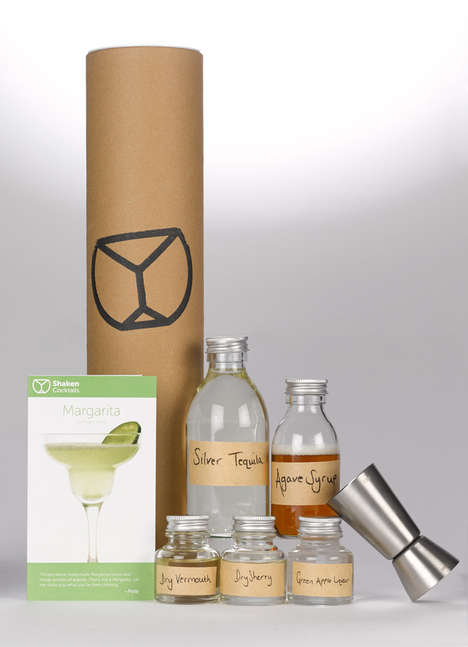 Mixology Subscription Kits - Shaken's Subscription Gift Service Provides a Monthly DIY Cocktail Kit