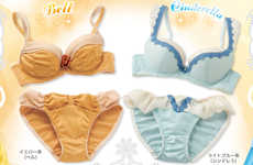 Pastel Disney Princess Underwear - Feel Like a Pretty Princess with This Disney Lingerie From Japan