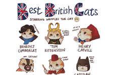 British Feline Fandom Shirts - This Cat Shirt Celebrates British Cult Fandom