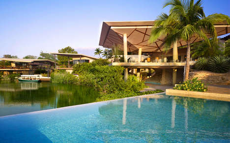 Luxurious Jungle Resorts - The Rosewood Mayakoba Resort Offers the Best of the Riviera Maya