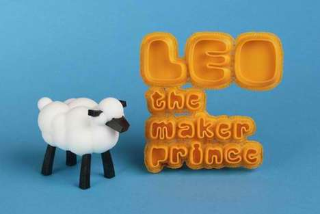 Demonstrative 3D-Printing Storybooks - 'LEO the Maker Prince' Explains & Shows 3D-Printing to Kids