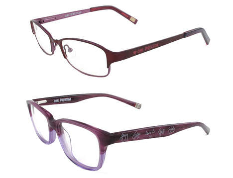 Boy Band Eyeglasses - Vision Express Collaborated for a Line of One Direction Fashion Eyeglasses