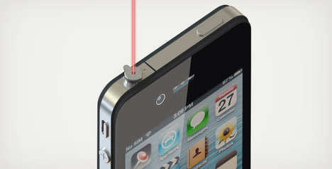 iPin iPhone Laser