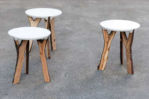 These Branch Stools Feature the Beautiful and Once-Desired Y-Shaped Boughs