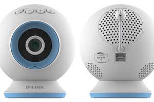 The D-Link Night Vision Camera Monitors Babies Sleeping