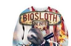 Sloth-Inspired Gamer Apparel