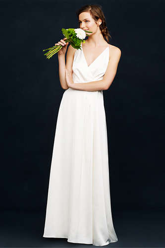 Springtime Bridal Gowns - This Relaxed J.Crew Wedding Collection is Perfect for the Spring Bride