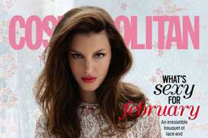 The Cosmopolitan February 2014 Issue Boasts Beauty & Free Spirit