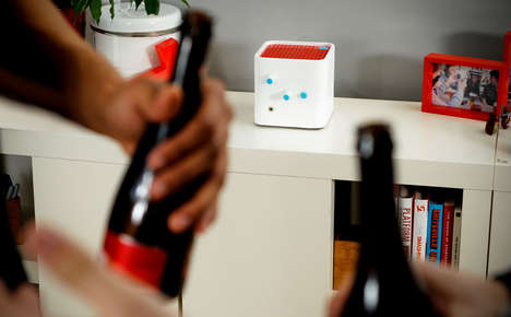 Mood-Sensing Music Boxes - These Smart Speakers Gauge the Mood of the Room and Play the Right Music