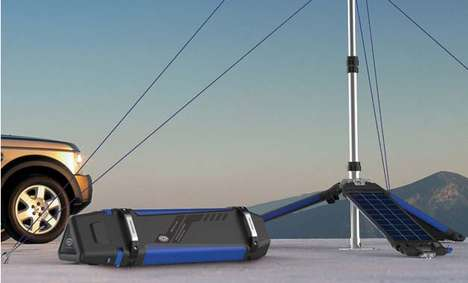 Mobile Eco Generators - The Portable Wind Solar System Harnesses the Sun and Breeze Anywhere