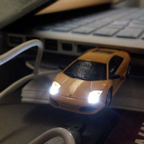 Luxury Car USBs - Leave Peasants in Your Dust with This Lamborghini USB