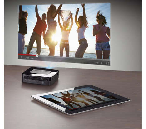 Portable Smartphone Projectors - The PicoPix Portable Projector Recently Launched at CES 2014