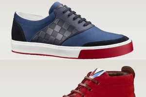 The Louis Vuitton SS 2014 Mens Sneakers Boast Posh Style