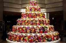 Botanical Bottle Birthday Cakes