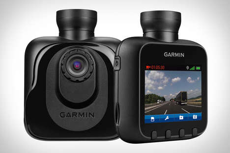 Digital Driving Dashboard Devices - Garmin Lets Us Document Our Trips with Its Handy Dash Camera