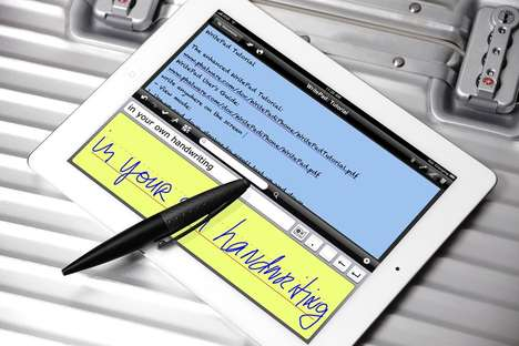 Twistable Tablet Writing Utensils - Switch Quickly from Digital to Analog Work with the AluPen Twist