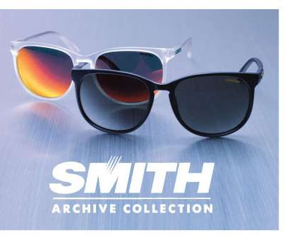 Retrospective Spectacle Collections - Smith Optics is Launching its Archive Collection