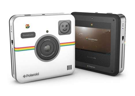 Social Networking Cameras (UPDATE) - The Polaroid Socialmatic Camera is Coming Soon