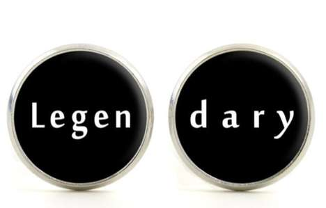 TV Sitcom-Inspired Cufflinks - How I Met Your Mother Fans Will Appreciate these Legendary Cufflinks