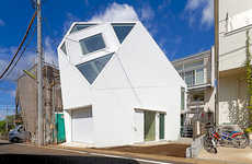 This Geometric Design by Atelier Tekuto Includes a Cleverly Angled Roof