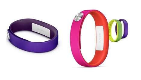 Life-Monitoring Wristbands - The Sony Lifesmart Wristband Was Displayed at CES 2014
