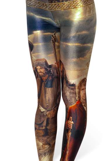 Middle Earth-Inspired Tights - Hobbit Leggings are Perfect for Fans of Lord of the Rings