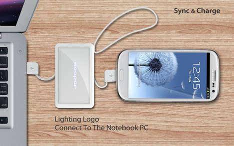 Versatile Wallet-Sized Chargers - Illume Adaptor Can Be Carried About for Emergency Gadget Rejuicing
